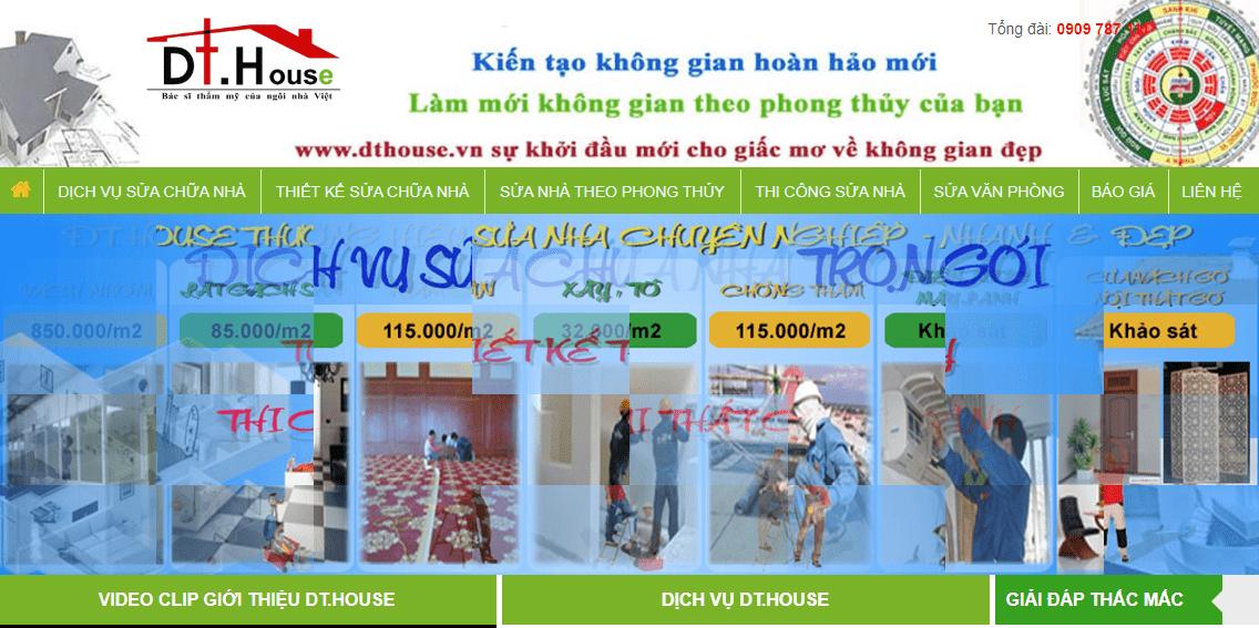 dịch vụ sửa nhà Sài Gòn