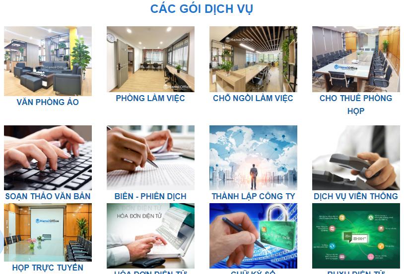 cho thuê co-working tốt nhất tại Hà Nội