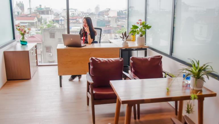 dịch vụ cho thêu văn phòng Coworking chất lượng tại Hà Nội