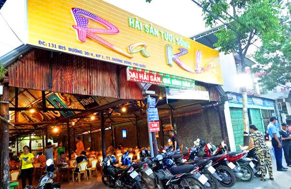 quán hải sản ở đường 30-4 phú quốc