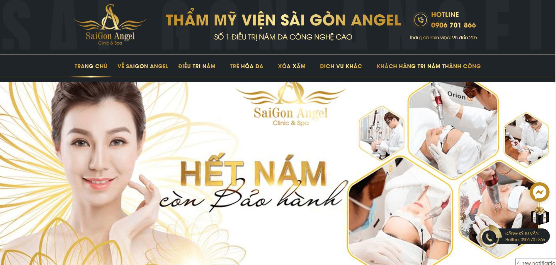 thẩm mỹ viện Sài Gòn