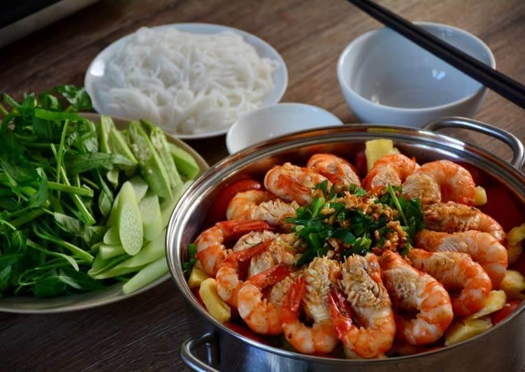 Shrimp Hotpot