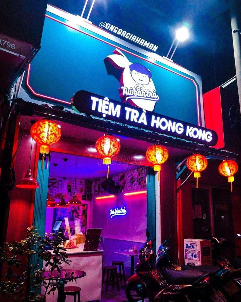 Tui Bán Trà - Tiệm Trà Chanh Hong Kong
