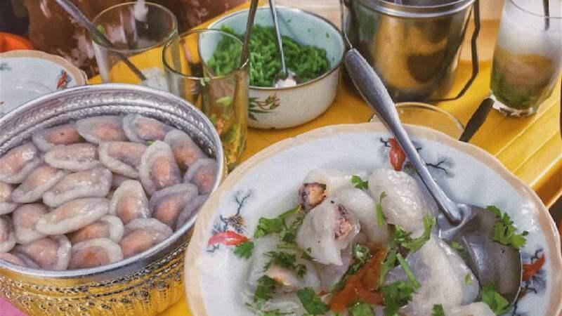 Quán ăn vặt Hải Phòng