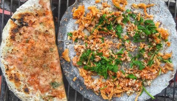 Bánh Tráng Nướng Phan Rang Cô Chín