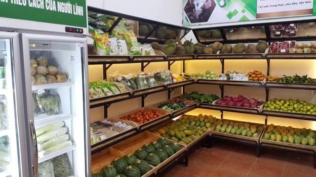 cửa hàng thực phẩm sạch Hà Nội