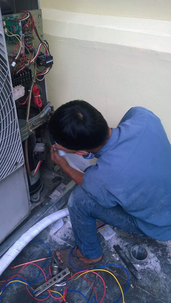 bơm ga tủ lạnh TPHCM