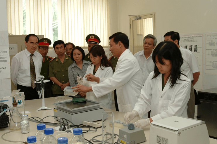 trung tâm giám định ADN bộ công an