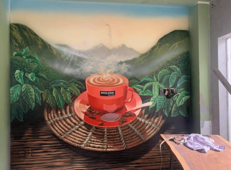tranh tường Phân Minh