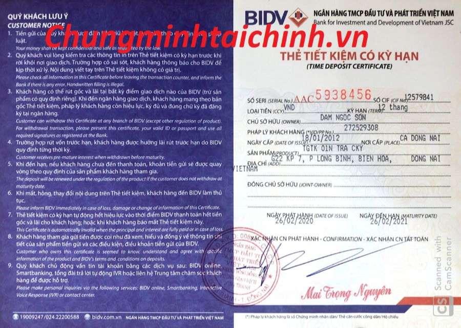 dịch vụ chứng minh tài chính TPHCM