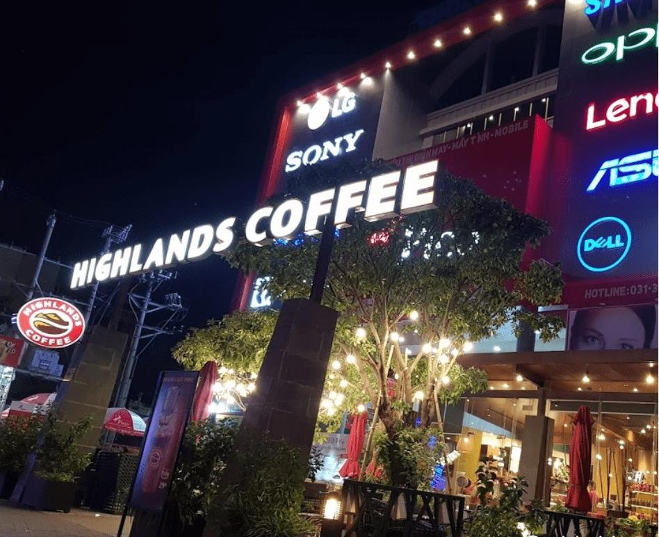 Quán ăn sáng cafe Hải Phòng 1