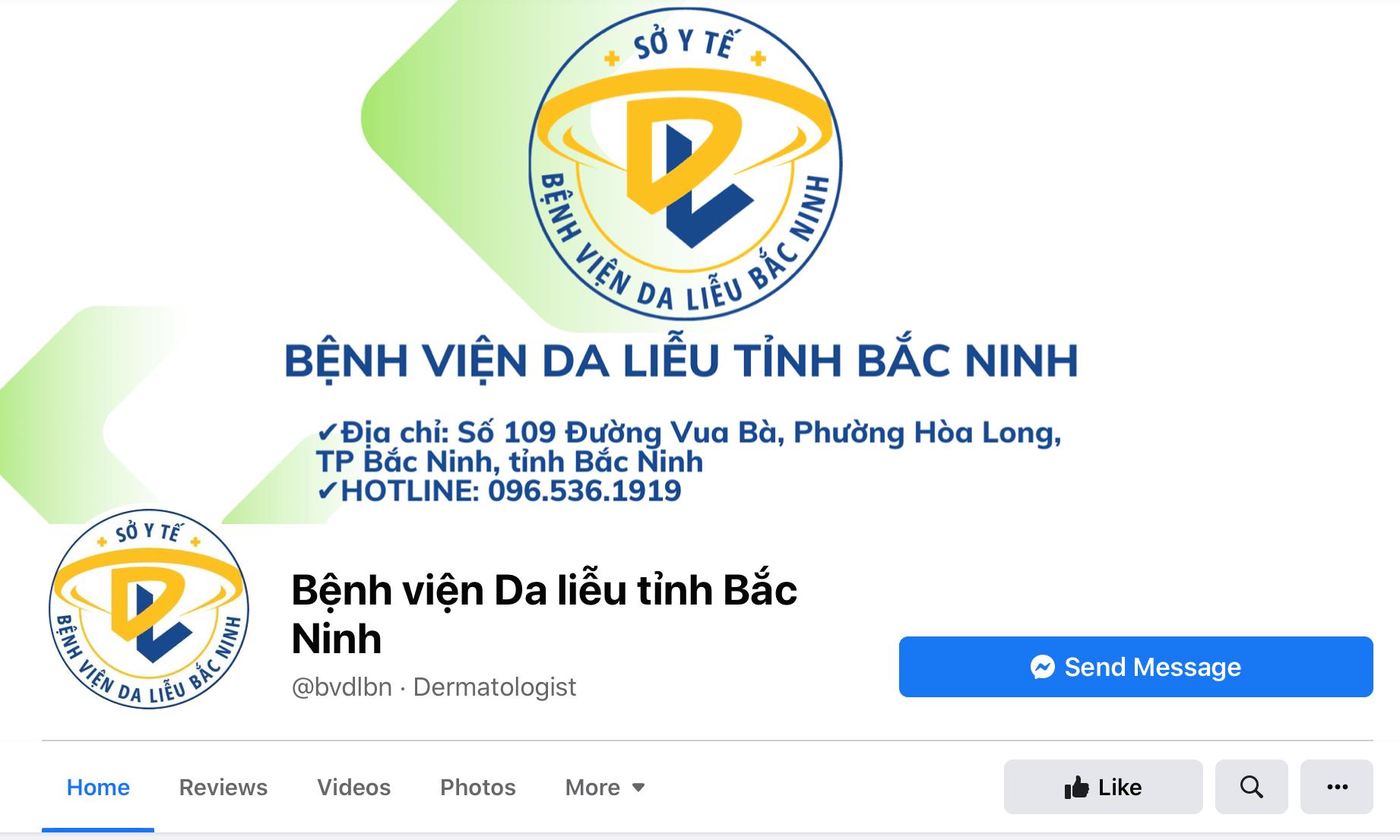 phòng khám da liễu Bắc Ninh