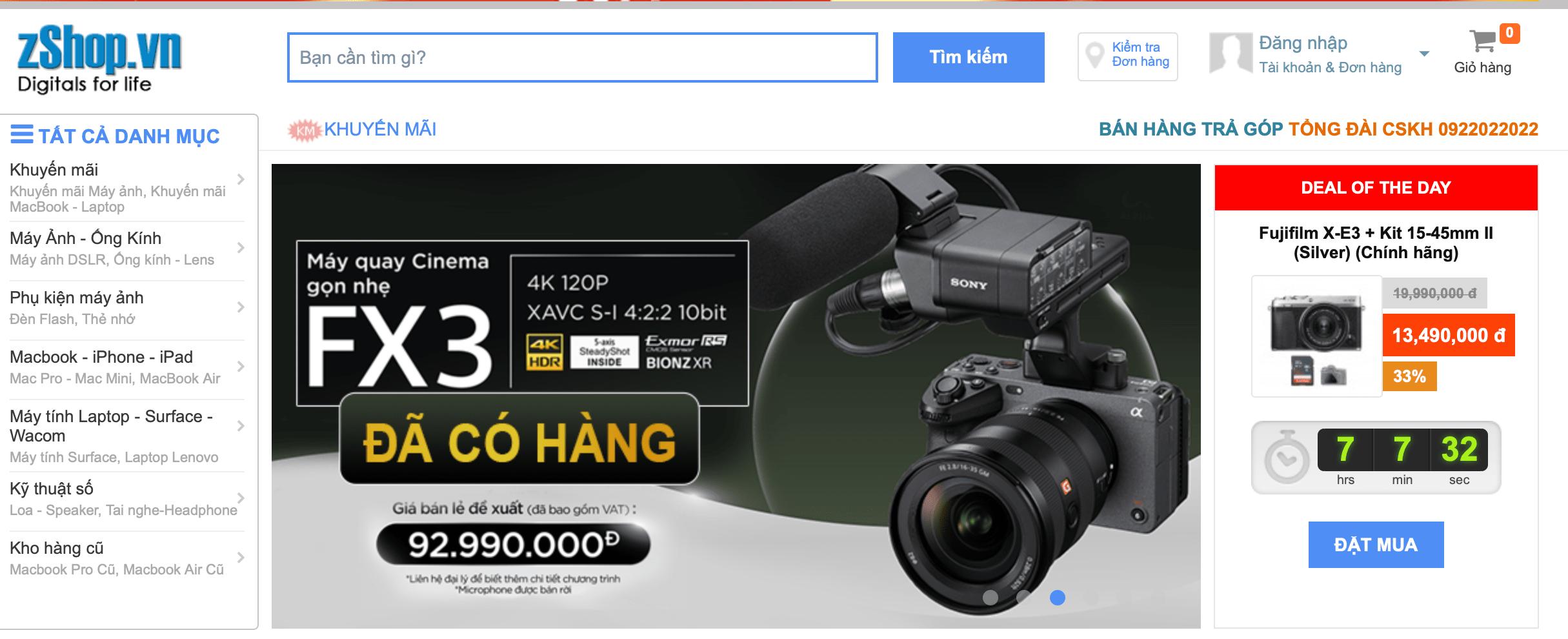 máy ảnh Đà Nẵng