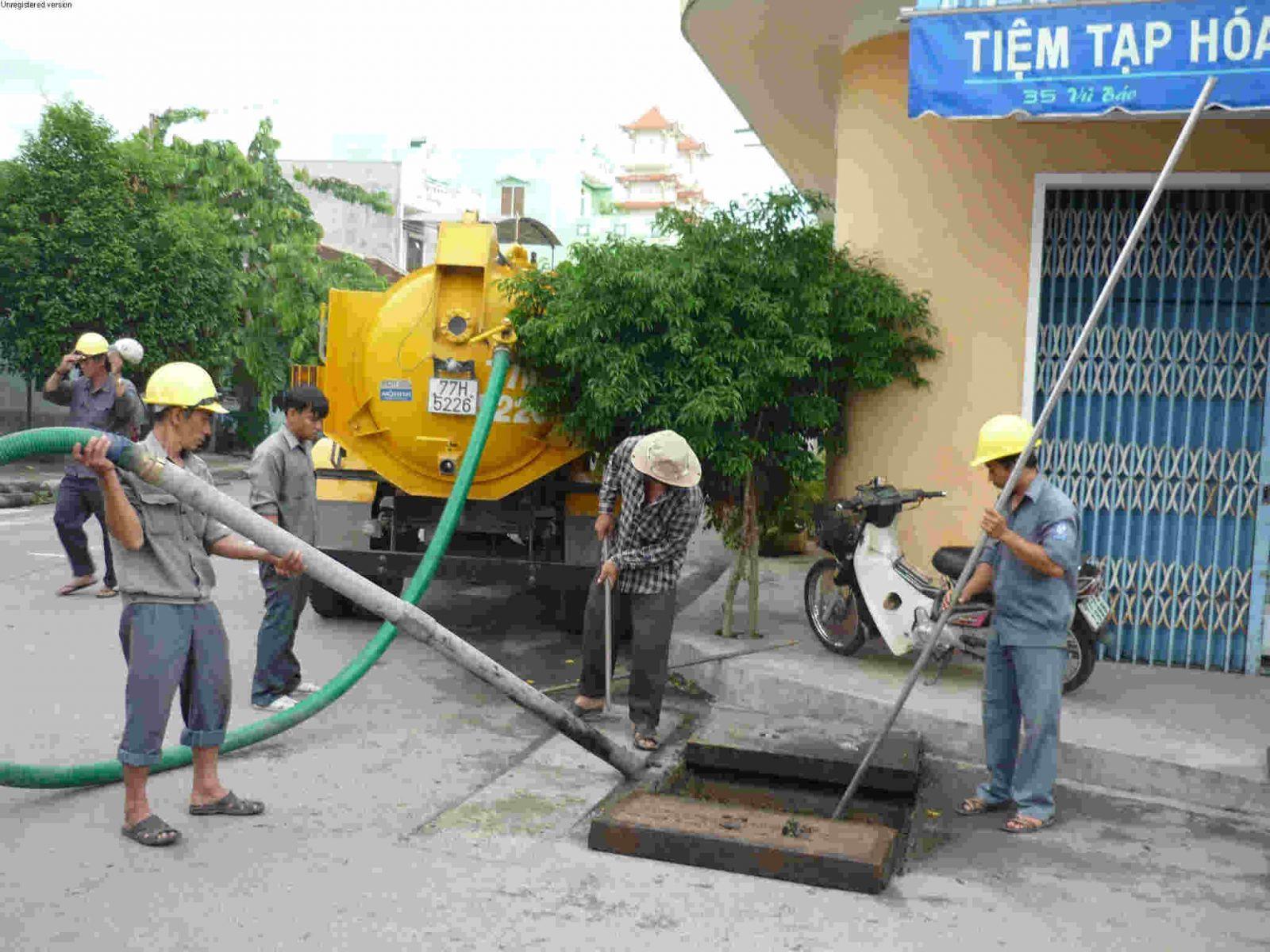 hút bể phốt tại Bắc Ninh