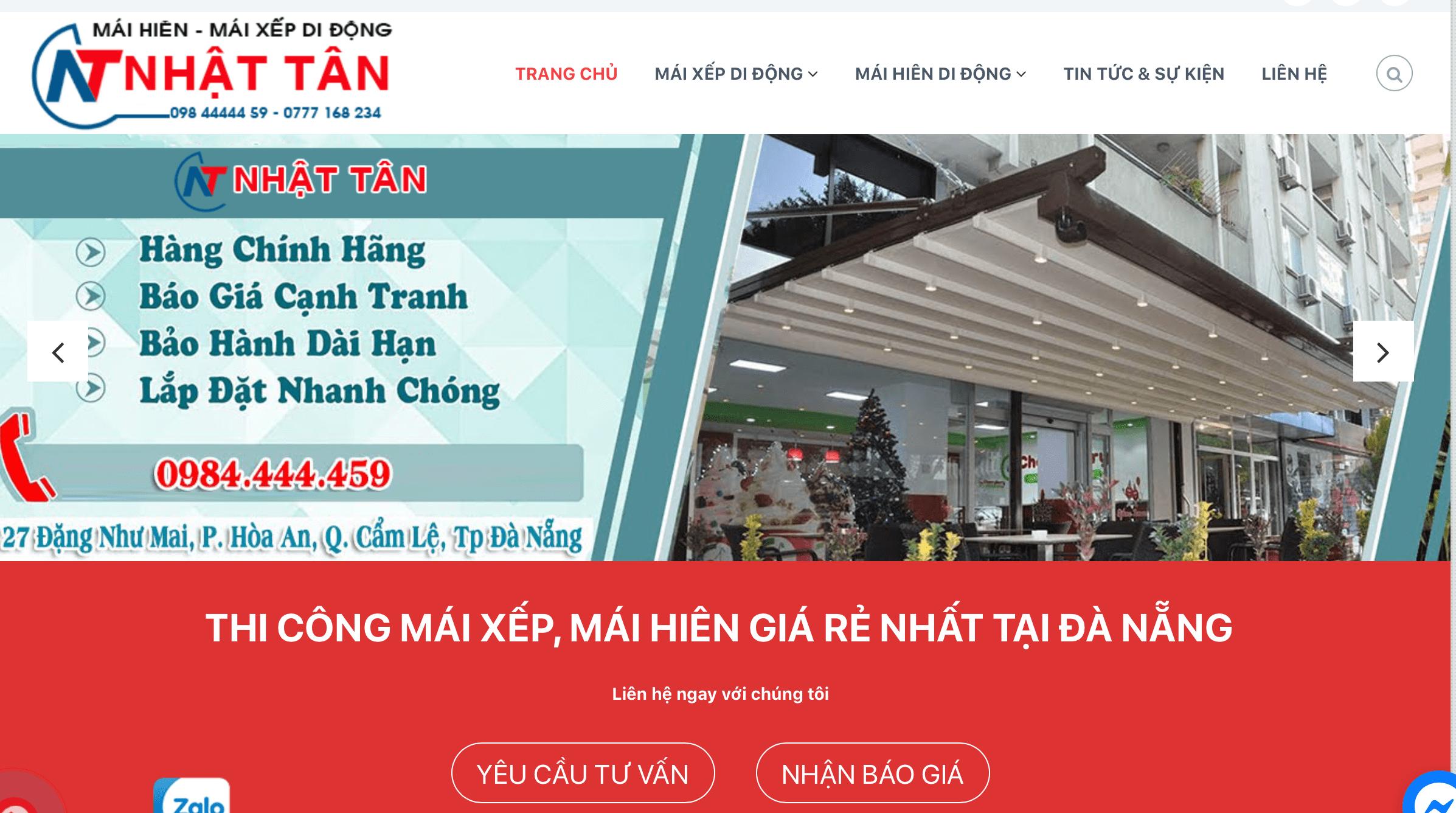 mái hiên Đà Nẵng