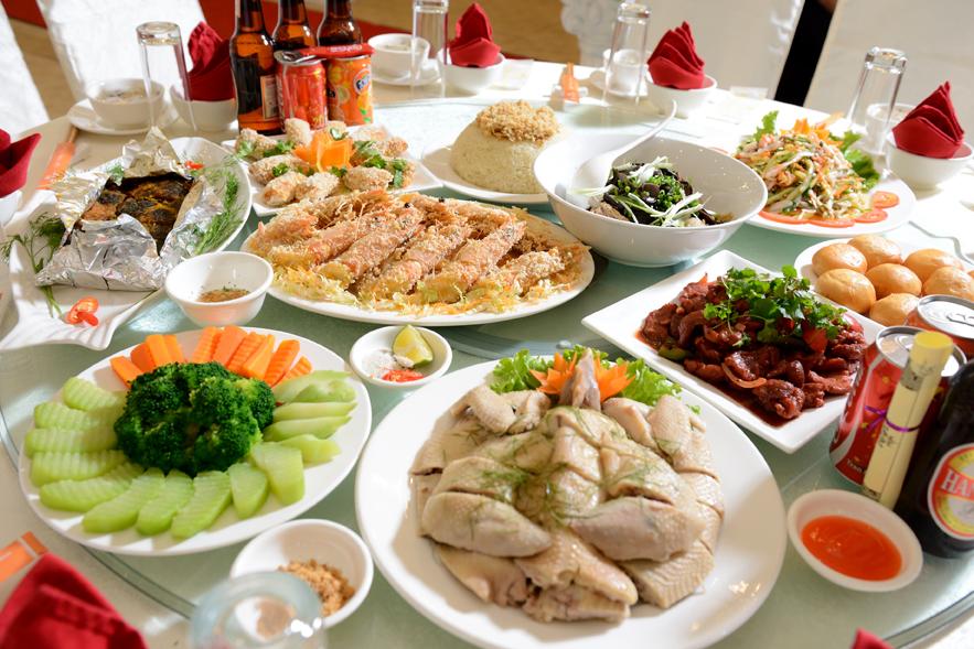Đặt cỗ tại nhà ở Hà Nội