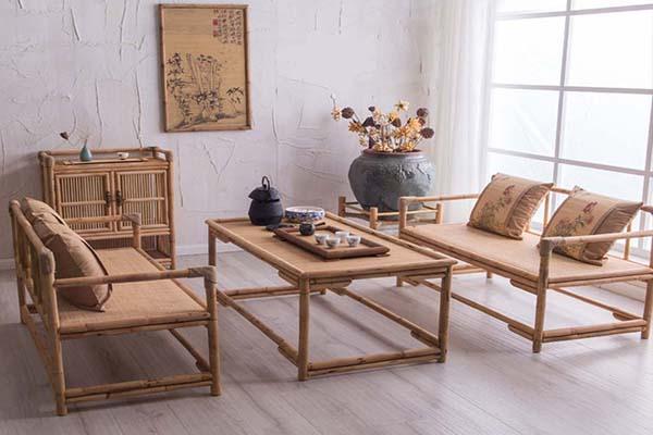 bàn ghế mây tre Đà Nẵng