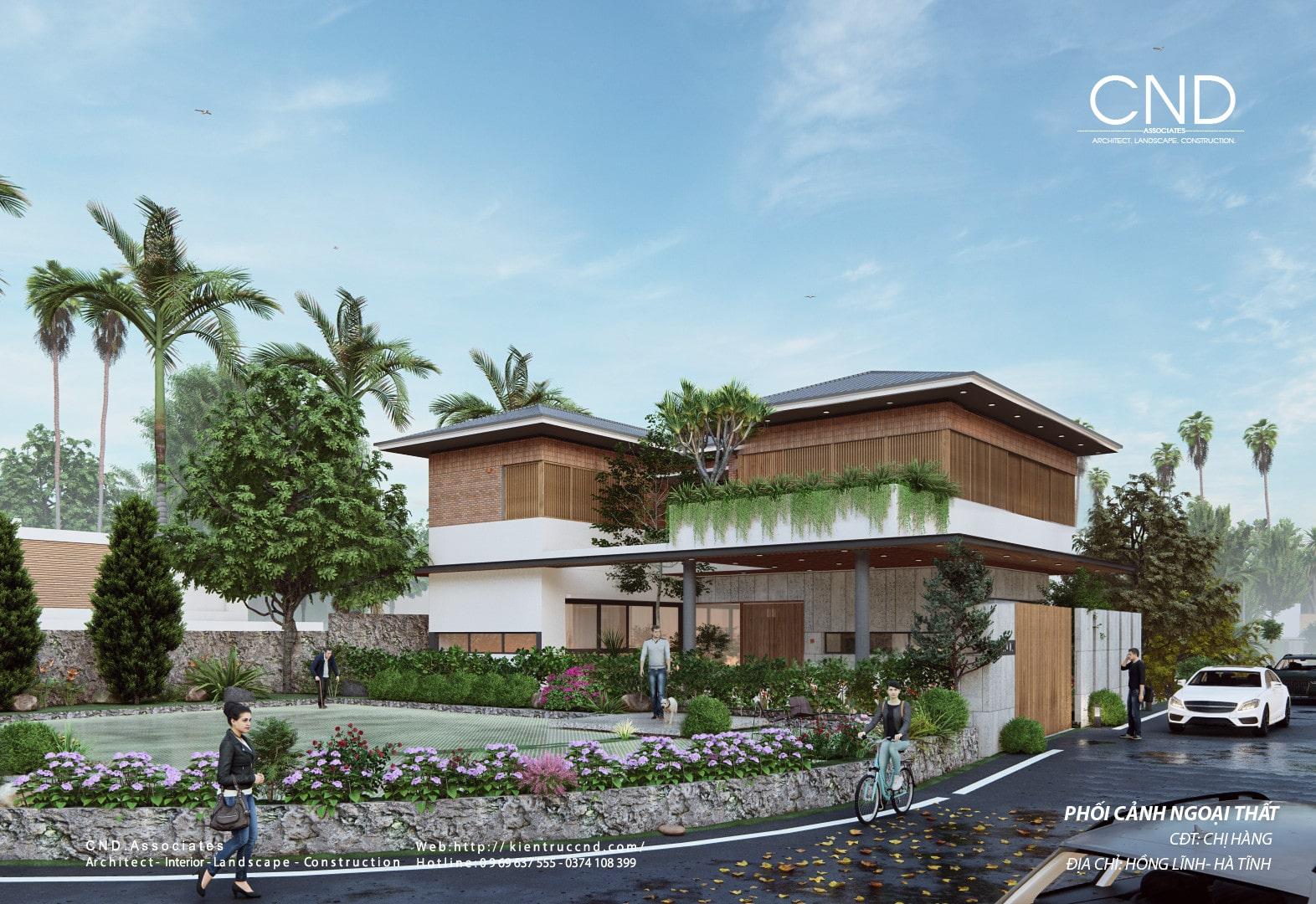 CND - thiết kế nhà đẹp tại Vinh