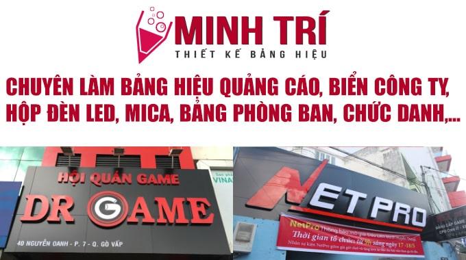 làm bảng hiệu công ty mica tphcm